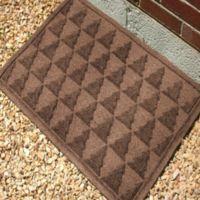 Weather Guard™ Pine Tree 23-Inch x 35-Inch Door Mat in Dark Brown
