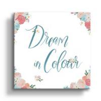 "Art Wall Spirit Stallion IV ""Dream in Colour"" 36-Inch Square Canvas Wall Art"