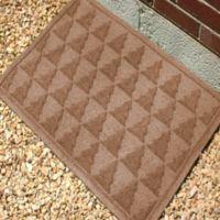 Weather Guard™ Pine Tree 23-Inch x 35-Inch Door Mat in Brown