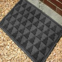 Weather Guard™ Pine Tree 23-Inch x 35-Inch Door Mat in Charcoal