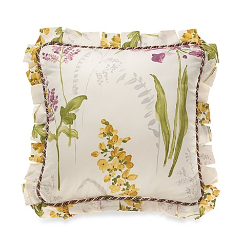 Willamsburg® Abigail Floral Printed Square Throw Pillow