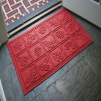 Weather Guard™ Nature Walk 23-Inch x 35-Inch Door Mat in Red