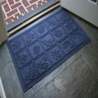 Weather Guard™ Nature Walk 23-Inch x 35-Inch Door Mat in Navy