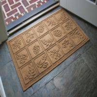 Weather Guard™ Nature Walk 23-Inch x 35-Inch Door Mat in Brown