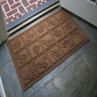 Weather Guard Nature Walk 23-Inch x 35-Inch Door Mat in Brown