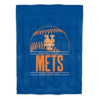 MLB New York Mets Grand Slam Twin Comforter Set