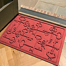 Weather Guard Keys To City 23 Inch X 35 Inch Door Mat