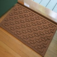 Weather Guard™ Ellipse 2-Foot x 3-Foot Door Mat in Dark Brown
