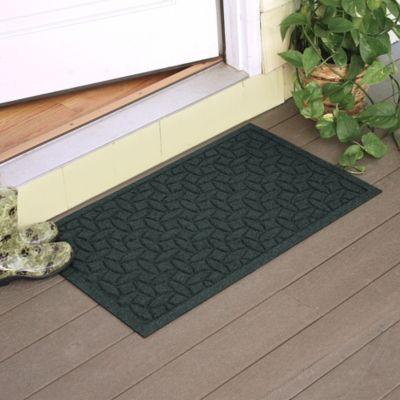 Weather Guard™ Ellipse 2 Foot X 3 Foot Door Mat In Evergreen