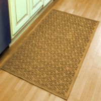 Weather Guard™ Leaf 34-1/2-Inch x 58-Inch Door Mat in Gold