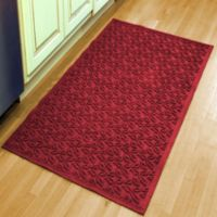 Weather Guard™ Leaf 34-1/2-Inch x 58-Inch Door Mat in Red