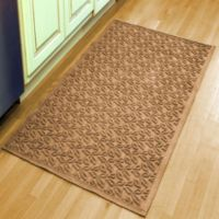 Weather Guard™ Leaf 34-1/2-Inch x 58-Inch Door Mat in Brown