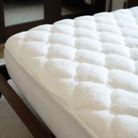 eLuxury Supply® Tencel® Top California King Mattress Pad in White