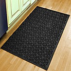 Weather Guard™ Leaf 34-1/2-Inch x 58-Inch  Door Mat in Charcoal