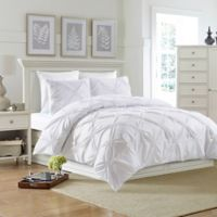 Bella King Duvet Cover Set in White