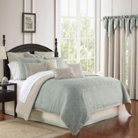 Waterford® Daphne Reversible Queen Comforter Set in Jade
