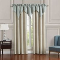 Waterford® Daphne Ascot Window Valances in Jade (Set of 3)