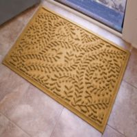 Weather Guard™ Boxwood 23-Inch x 35-Inch Door Mat in Gold