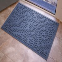 Weather Guard™ Boxwood 23-Inch x 35-Inch Door Mat in Navy