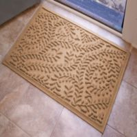 Weather Guard™ Boxwood 23-Inch x 35-Inch Door Mat in Medium Brown