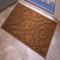 Weather Guard™ Boxwood 23-Inch x 35-Inch Door Mat in Dark Brown