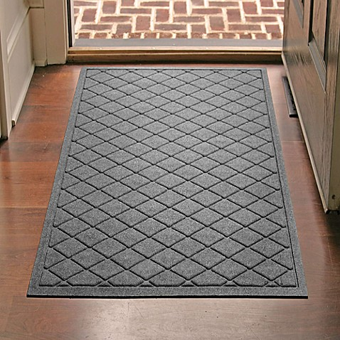 Weather Guard 30 Inch X 45 Inch Argyle Door Mat Bed