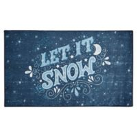 Mohawk Home Prismatic Let It Snow 2'6 x 4'2 Accent Rug in Navy