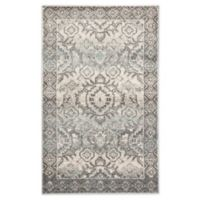 Jaipur Living Dasha Medallion 2' x 3' Accent Rug in Blue/Grey