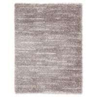 Jaipur Living Cabot Abstract 5'3 x 7'6 Shag Area Rug in Grey/Ivory