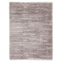 Jaipur Living Cabot Abstract 2' x 2'11 Shag Accent Rug in Grey/Ivory