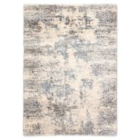 Jaipur Living Harmony 2' x 3' Shag Accent Rug in Light Gray/Blue