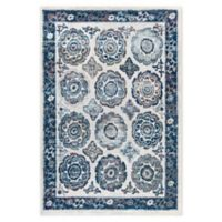 Modway Odile 5' x 8' Area Rug in Ivory/Blue