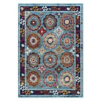 Modway Odile 8' x 10' Area Rug in Blue