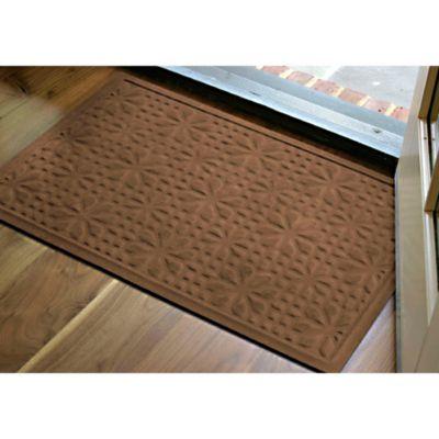 Microfibre® Low Profile 2 Foot X 3 Foot Door Mat In Chocolate