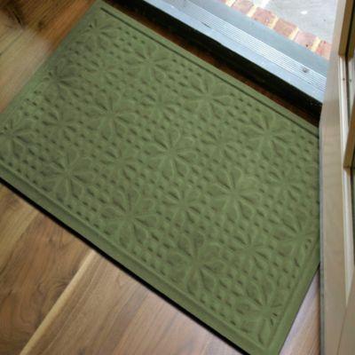 Perfect Microfibre® Low Profile 2 Foot X 3 Foot Door Mat In Green
