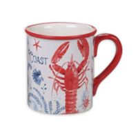 Certified International Nautical Life Lobster Mugs (Set of 4)