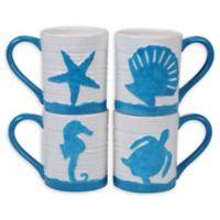 Certified International Natural Coast Mugs (Set of 4)