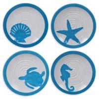 Certified International Natural Coast Dessert Plates (Set of 4)