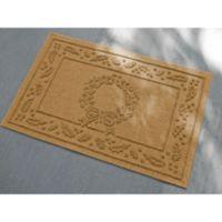 Weather Guard™ 23-Inch x 35-Inch Wreath Door Mat in Gold
