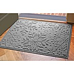 Weather Guard™ 23-Inch x 35-Inch Snowflake Door Mat in Medium Grey