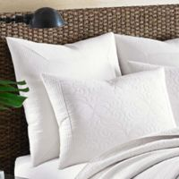 Tommy Bahama® Nassau European Pillow Sham in White