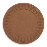 Weather Guard™ Round Tree Skirt in Dark Brown