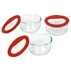 Pyrex® No-Leak™ 3-Piece Glass Container Set