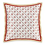 Royal Heritage Home® Pelham Square Throw Pillow in Orange