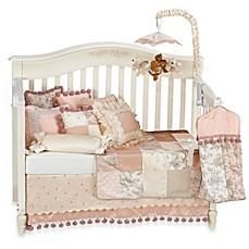 glenna jean madison 3piece crib bedding set