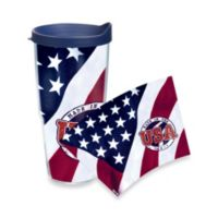 Tervis® Made in the USA 24-Ounce Wrap Tumbler with Navy Blue Lid