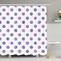 Purple 69-Inch x 84-Inch Shower Curtain
