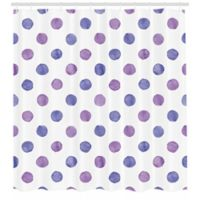 Purple 69-Inch x 70-Inch Shower Curtain