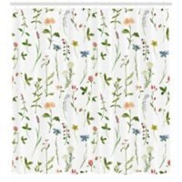 Colorful Florals 69-Inch x 84-Inch Shower Curtain