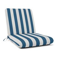 44-Inch x 22-Inch Dining Chair Cushion in Sunbrella® Fabric in Regatta